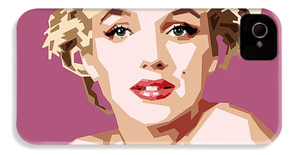 Marilyn IPhone 4 / 4s Case by Douglas Simonson