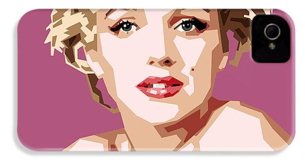 Marilyn IPhone 4 Case by Douglas Simonson