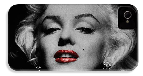 Marilyn Monroe 3 IPhone 4 Case by Andrew Fare