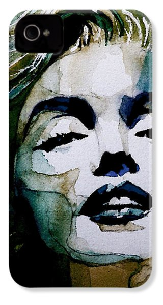 Marilyn No10 IPhone 4 Case by Paul Lovering