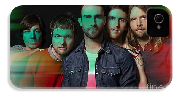 Maroon 5 Painting IPhone 4 Case by Marvin Blaine