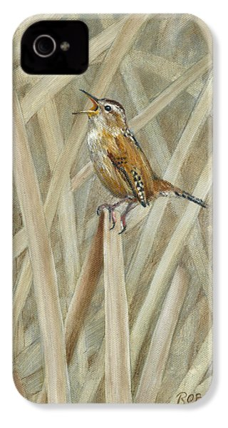 Marsh Melody IPhone 4 Case by Rob Dreyer