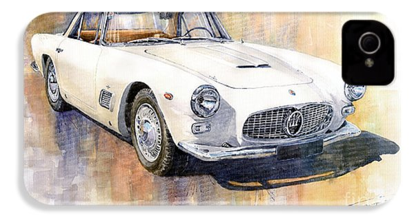 Maserati 3500gt Coupe IPhone 4 Case by Yuriy  Shevchuk