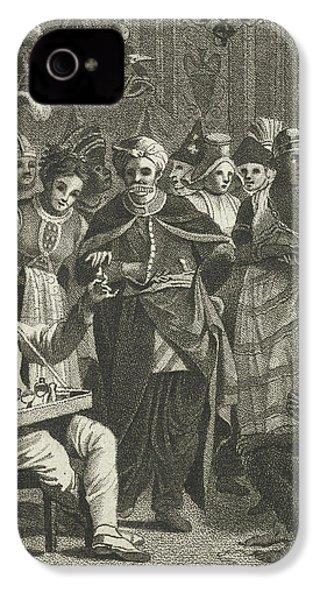 Masquerade, Lambertus Antonius Claessens IPhone 4 Case by Lambertus Antonius Claessens