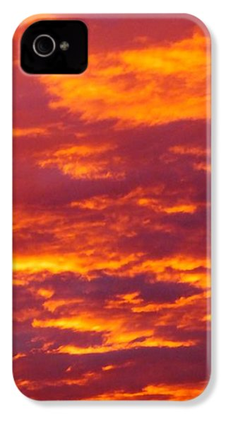 Matin De Feu IPhone 4 Case by Marc Philippe Joly