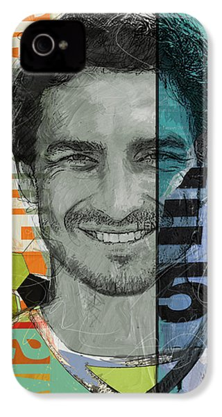 Mats Hummels - B IPhone 4 Case by Corporate Art Task Force