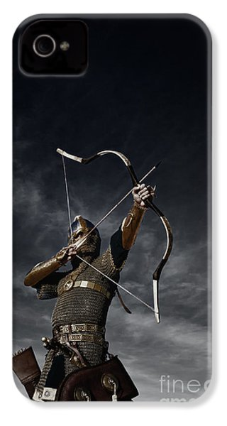 Medieval Archer II IPhone 4 / 4s Case by Holly Martin