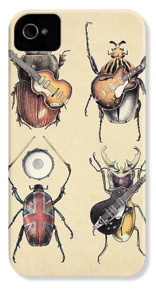 Meet The Beetles IPhone 4 / 4s Case by Eric Fan