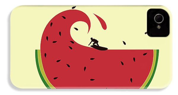 Melon Splash IPhone 4 Case by Neelanjana  Bandyopadhyay
