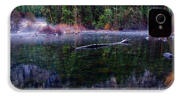 Merced River Riverscape IPhone 4 Case by Scott McGuire