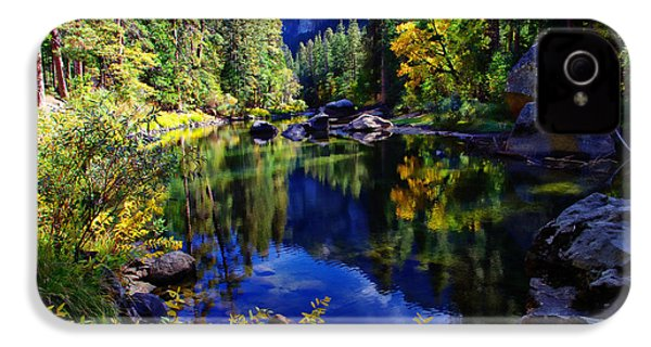 Merced River Yosemite National Park IPhone 4 / 4s Case by Scott McGuire
