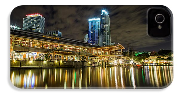 Miami Bayside At Night IPhone 4 Case