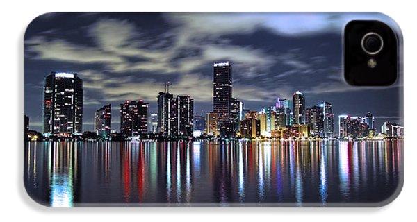 Miami Skyline IPhone 4 Case by Gary Dean Mercer Clark