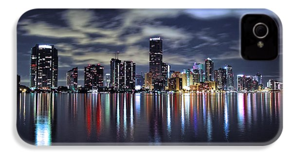 Miami Skyline IPhone 4 Case