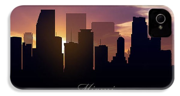 Miami Sunset IPhone 4 Case by Aged Pixel