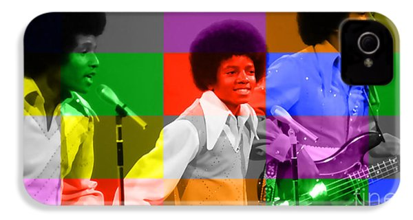 Michael Jackson And The Jackson 5 IPhone 4 / 4s Case by Marvin Blaine