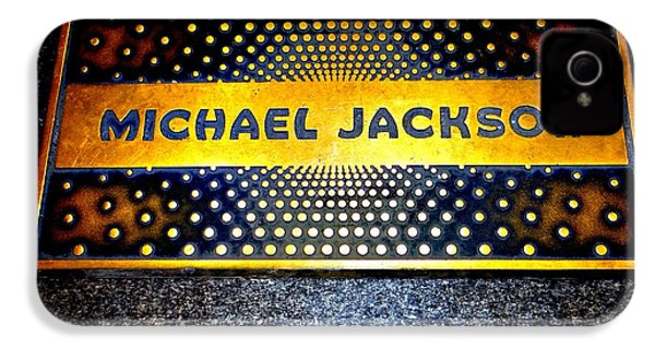Michael Jackson Apollo Walk Of Fame IPhone 4 / 4s Case by Ed Weidman