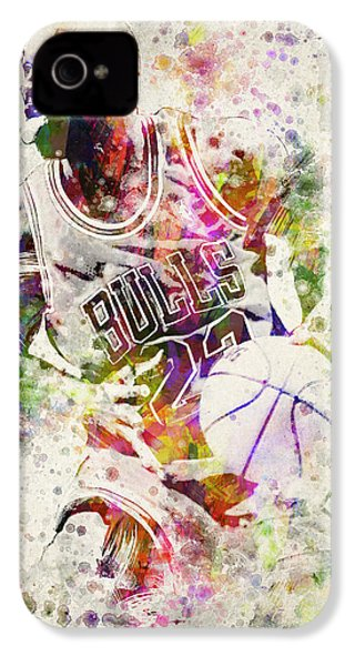 Michael Jordan IPhone 4 / 4s Case by Aged Pixel