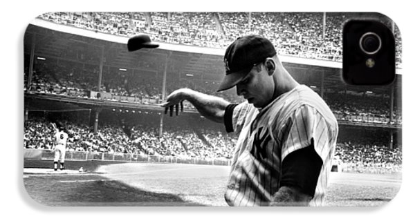 Mickey Mantle IPhone 4 Case by Gianfranco Weiss