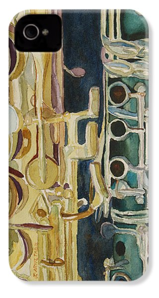 Midnight Duet IPhone 4 / 4s Case by Jenny Armitage