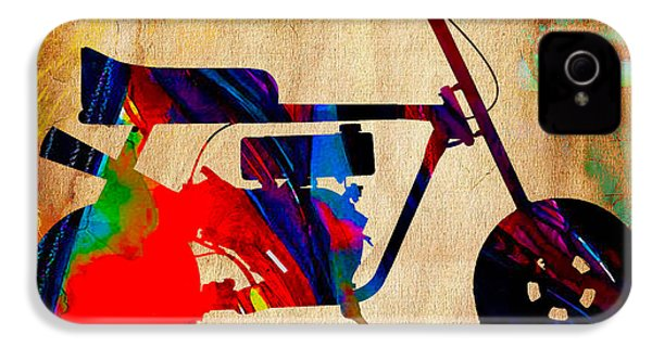 Mini Bike Art IPhone 4 / 4s Case by Marvin Blaine