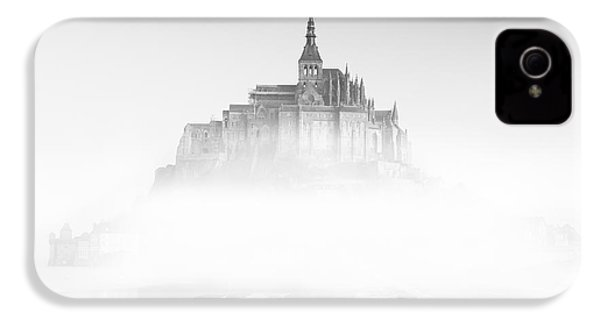 Mont Saint-michel IPhone 4 Case by Sebastian Musial
