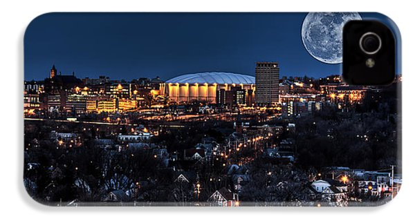 Moon Over The Carrier Dome IPhone 4 Case