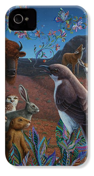 Moonlight Cantata IPhone 4 Case by James W Johnson