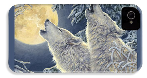 Moonlight IPhone 4 Case by Lucie Bilodeau