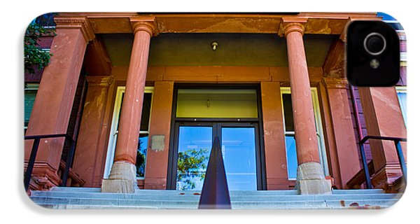 Morrill Hall On Michigan State Campus  IPhone 4 Case by John McGraw