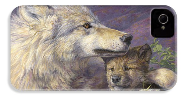 Mother's Love IPhone 4 Case by Lucie Bilodeau
