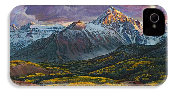 Mt. Sneffels IPhone 4 Case by Aaron Spong