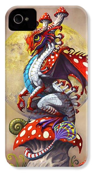 Mushroom Dragon IPhone 4 Case