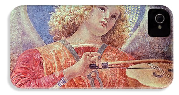 Musical Angel With Violin IPhone 4 Case