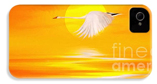 Mute Sunset IPhone 4 Case