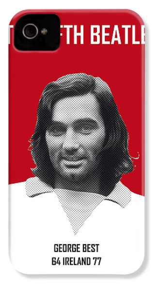 My Best Soccer Legend Poster IPhone 4 Case by Chungkong Art