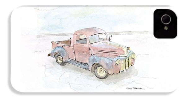My Favorite Truck IPhone 4 Case by Joan Sharron
