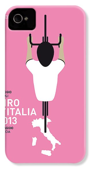 My Giro D'italia Minimal Poster IPhone 4 / 4s Case by Chungkong Art