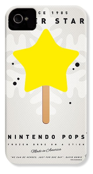 My Nintendo Ice Pop - Super Star IPhone 4 Case