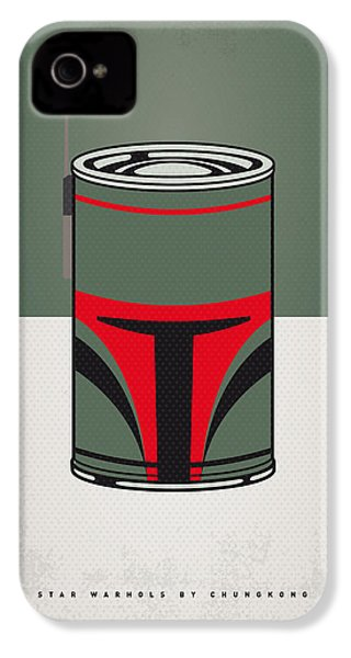 My Star Warhols Boba Fett Minimal Can Poster IPhone 4 Case by Chungkong Art