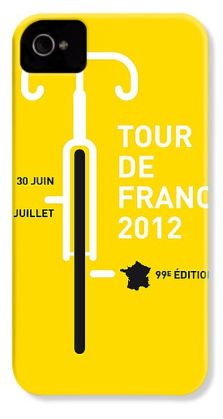 My Tour De France 2012 Minimal Poster IPhone 4 / 4s Case by Chungkong Art