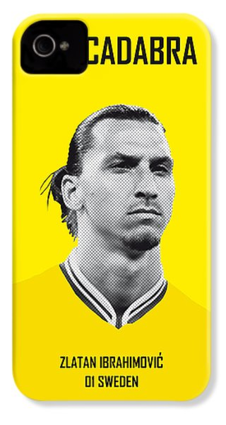 My Zlatan Soccer Legend Poster IPhone 4 / 4s Case by Chungkong Art