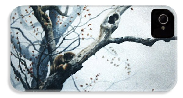 Nap In The Mist IPhone 4 / 4s Case by Hanne Lore Koehler