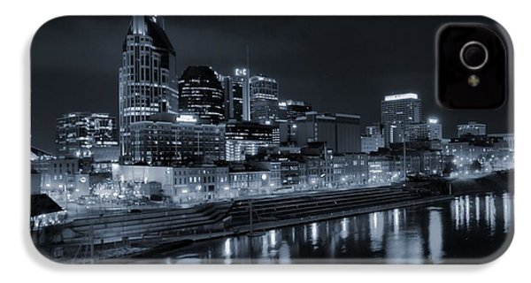 Nashville Skyline At Night IPhone 4 Case