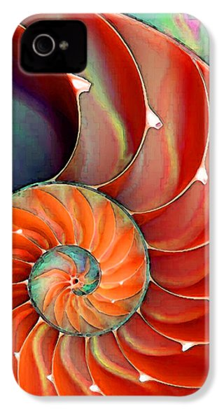 Nautilus Shell - Nature's Perfection IPhone 4 Case