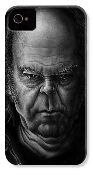 Neil Young IPhone 4 Case by Andre Koekemoer