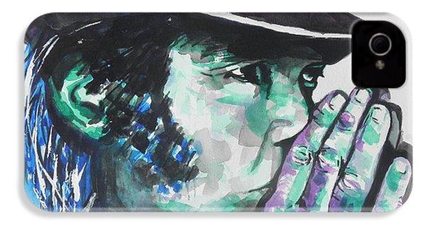 Neil Young IPhone 4 Case by Chrisann Ellis