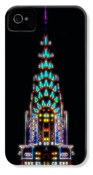 Neon Spires IPhone 4 / 4s Case by Az Jackson