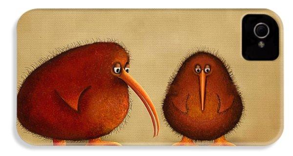 New Arrival. Kiwi Bird - Sweet As - Boy IPhone 4 Case by Marlene Watson