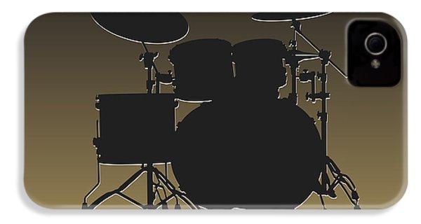 New Orleans Saints Drum Set IPhone 4 Case by Joe Hamilton